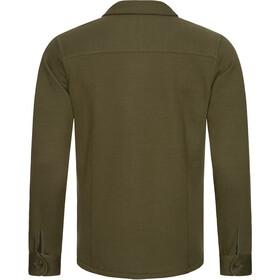 super.natural Knit Jacket Men, olive night